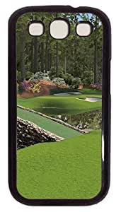 12th Augusta National PC Case Cover For Samsung Galaxy S3 SIII I9300 Black