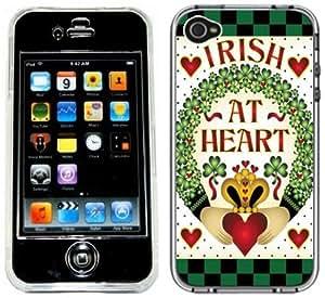 Irish At Heart Claddagh Handmade iPhone 4 4S Full Hard Plastic Case
