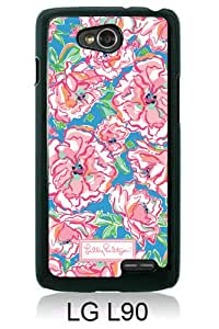 Popular LG L90 Case ,Lilly Pulitzer 28 black LG L90 Cover Beautiful And Durable Designed Case
