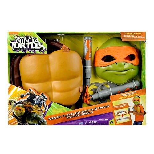 Teenage Mutant Ninja Turtles Out of the Shadows Ninja Turtles Battle Pack Michelangelo Roleplay Set