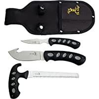 Elk Ridge ER-252 Hunting Knife Set 3-Piece