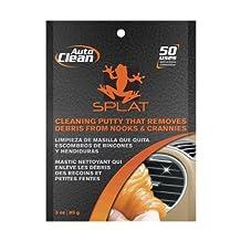 Vdera SPLAT-AC-3P Splat Orange Auto-Clean Cleaning Putty - 3 Ounce