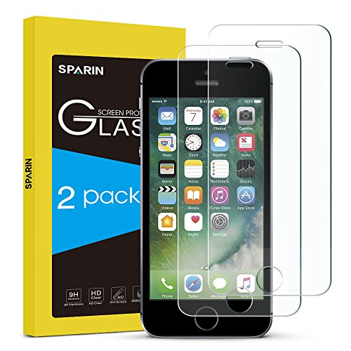 sparin-9h-tempered-glass-screen-protector-for-iphone-se-5s-2-pack