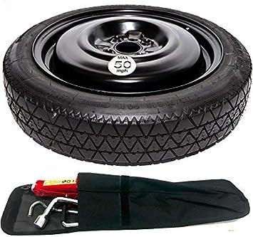 Juego de herramientas para rueda de repuesto con funda que ahorra espacio para Suzuki: Amazon.es: Coche y moto