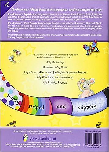 Jolly Grammar 1 Pupil Book: Sara Wernham: 9781844142620: Amazon ...