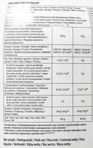 FA Gold Isolate Protein 2.27kg Vainilla