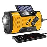 RunningSnail Solar Crank NOAA Weather Radio for