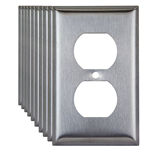 Metal 1 Gang Wall Plates - 4