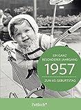 1957 - Ein ganz besonderer Jahrgang Zum 60. Geburtstag: Jahrgangs-Heftchen mit Kuvert
