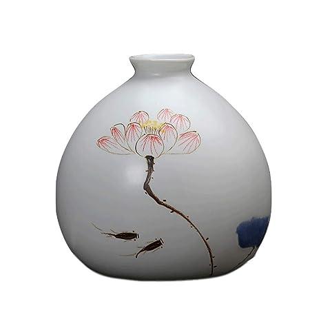 GX Hecho A Mano pequeño jarrón,Cerámica Mini Plantas ...