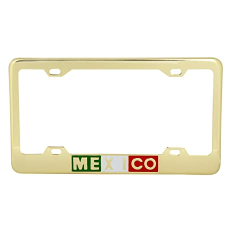 ClustersNN Star Trek I Find Your Driving Highly Illogical Chrome Metal License Plate Frame with Vinyl Black