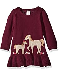 Gymboree Girls' Toddler Girls' Fuchsia Horse Sweater Dress