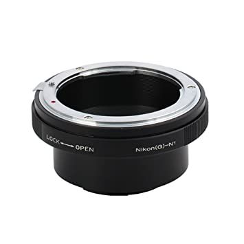 Pixco Lens Adapter Ring Suit for Nikon G Lens to Nikon 1 Camera J5 J4 S2 V3 AW1 J3 J2 J1 V2 S1 V1