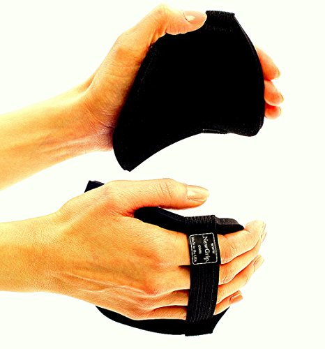 NewGrip Power Pads l Gloves for Weight Lifting, CrossFit, & Pull-Ups (Height (Over 5'9