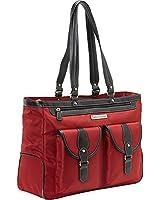 "Clark & Mayfield Marquam Laptop Handbag 18.4"" (Red)"
