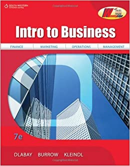 Introduction To Business Book