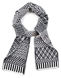 Solmate Scarf, USA Made with Soft Recycled Cotton Yarns, Midnight