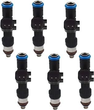 Set Of 6 Fuel Injectors Fit for Dodge Jeep Chrysler 3.8L 3.3L 0280158119