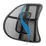 2017 Massage Cushion Mesh Chair Relief Lumbar Back Brace Support...