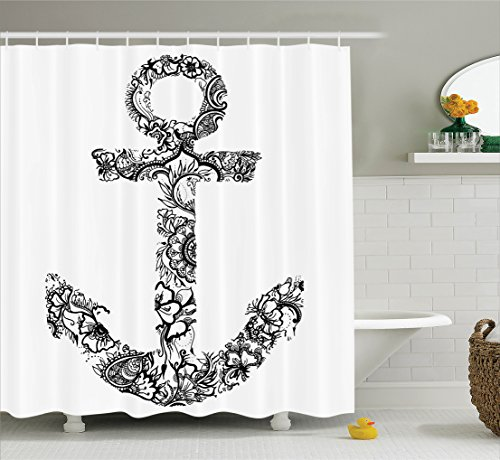 Ambesonne Ornamental Silhouette Happiness Accessories