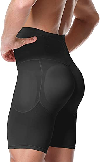 Amazon.com: DoLoveY Men Butt Lifter Shapewear Butt Shaper Boxer Padded  Enhancing Underwear Tummy Control: Clothing