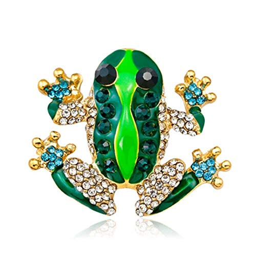 Women Frog Animal Fashion Jewelry Brooch Pin Garment Decoration Elegant - Lizard Marcasite Pin