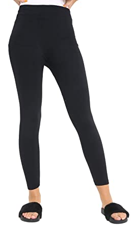 1ff8a04a4d7bd3 Image Unavailable. Image not available for. Colour: Candid Styles Womens  Ladies Tight Fleece Warm Winter Thermal Jeggings Pants Leggings ...