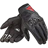 Dainese C2 MIG Gloves (MEDIUM) (BLACK/WHITE/LAVA RED)