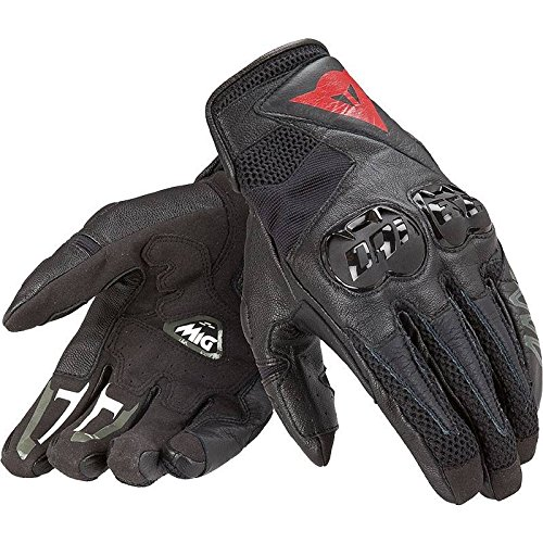 Dainese Adult MIG C2 UNISEX GLOVES Black S, 2 Pack