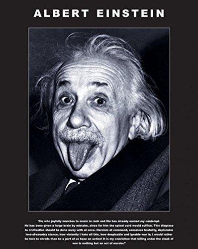 Albert Einstein- Tongue Poster Collections Mini Print