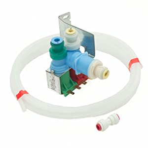 Whirlpool W10408179 Refrigerator Water Inlet Valve Kit Genuine Original Equipment Manufacturer (OEM) Part