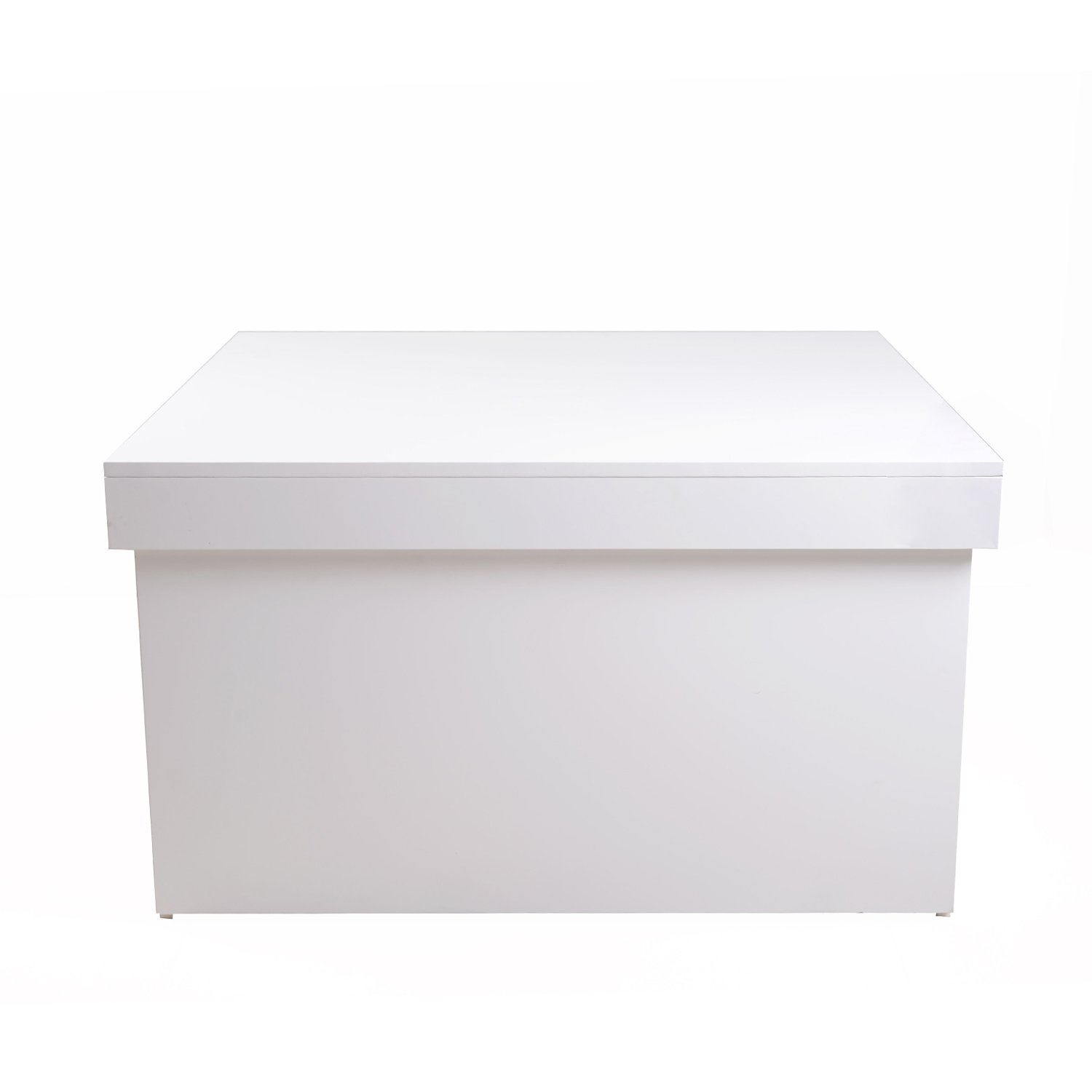 Amazoncom Organizedlife Large White Shoe Box Cabinet Seat With Drawer