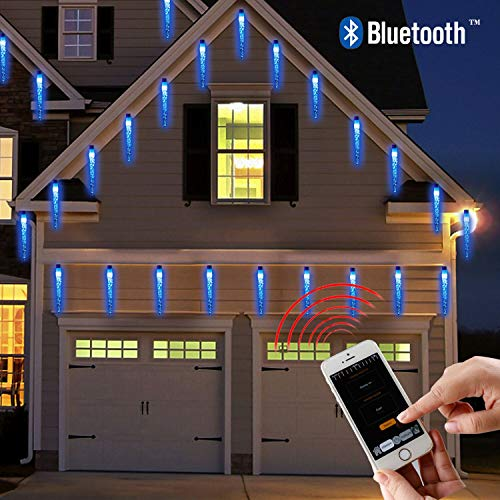 Ice Blue Led Christmas Lights in US - 9