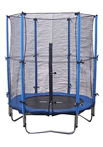 Super Jumper Combo Trampoline, Blue, Small/4.5-Feet