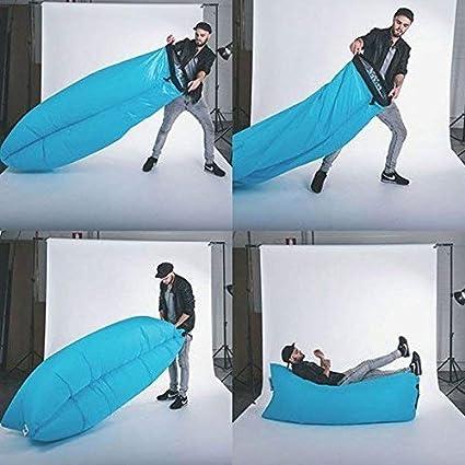 Amazon.com: 2017 Nueva Aire sofá Fast hinchable laybag ...