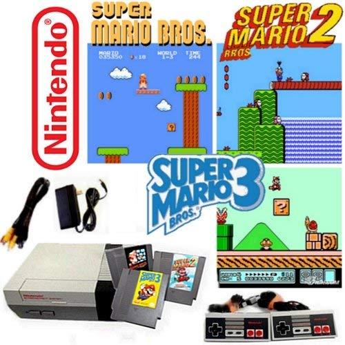 Nintendo NES Game System with Super Mario Bros. 1, 2 & 3 (Renewed) by Nintendo (Image #2)