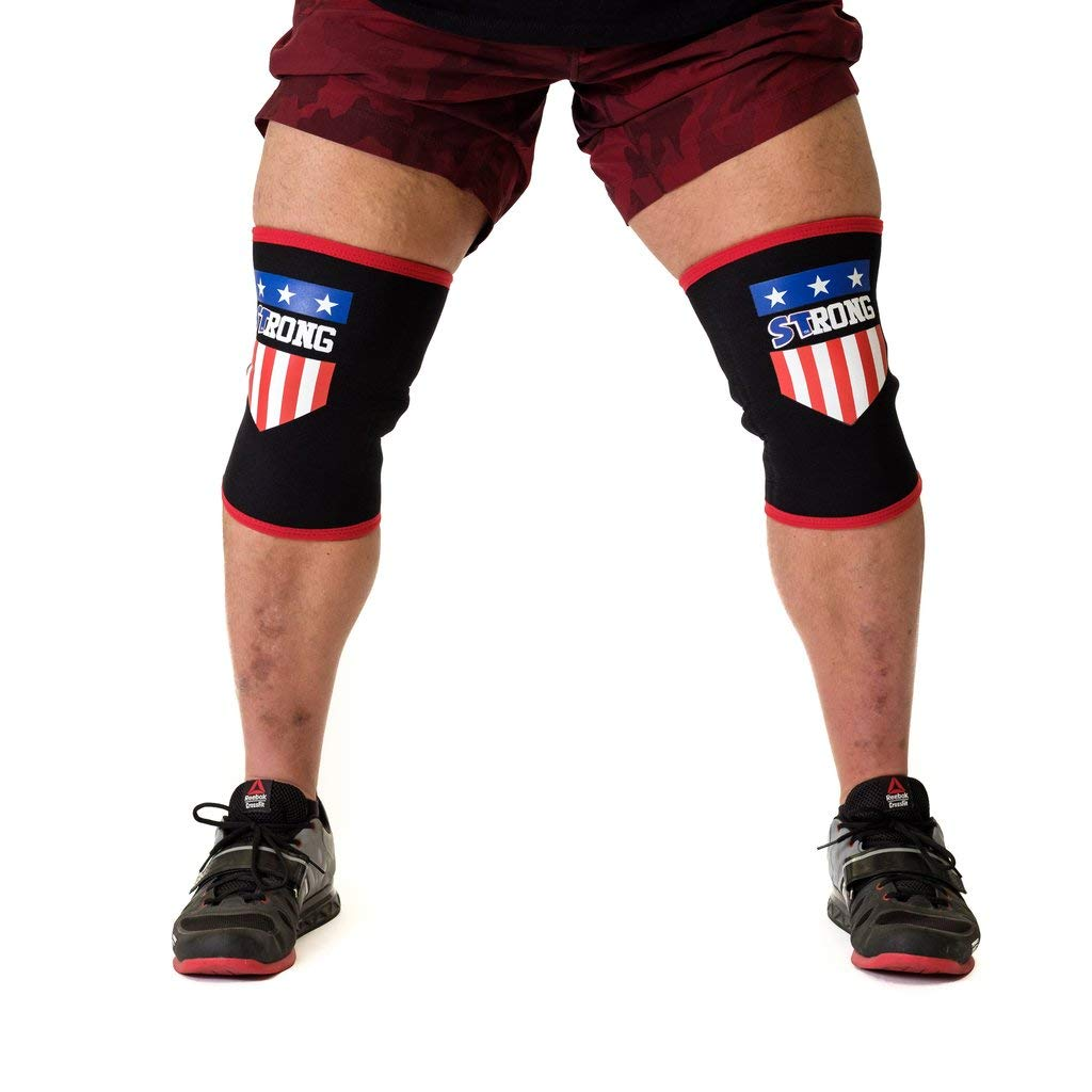 MB3 USA Strong Knee Sleeves - 2XL