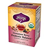 YOGI Cinnamon Berry Probiotic Balance Tea - 1 Pack