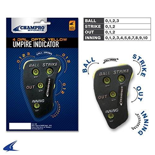 Ump 4 Dial Indicator A048 New Dial Umpire Clicker A048 Black Osfa