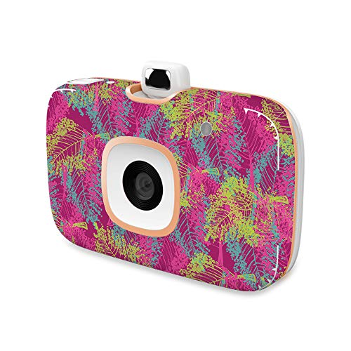 MightySkins Skin Compatible with HP Sprocket 2-in-1 Photo Printer - Magenta Summer | Protective, Durable, and Unique Vinyl Decal wrap Cover | Easy to Apply, Remove | Made in The USA