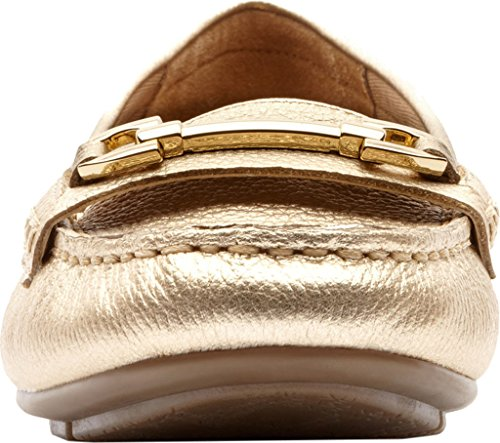 Vionic Womens Kenya Loafer Gold