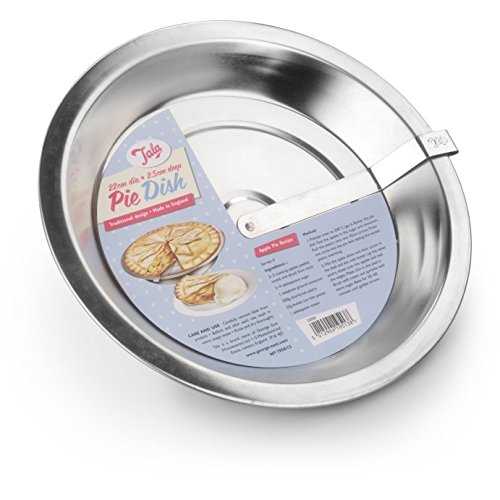 Tala Pie Dish With Cutter, Silver
