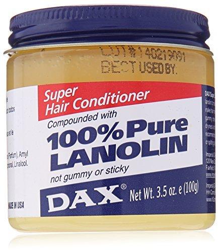 Dax Super Hair Conditioning Lanolin 3.5 oz by DAX (Dax Lanolin Super)