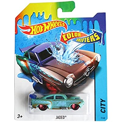 Hot Wheels 2015 Color Shifters Jaded 11/48: Home & Kitchen