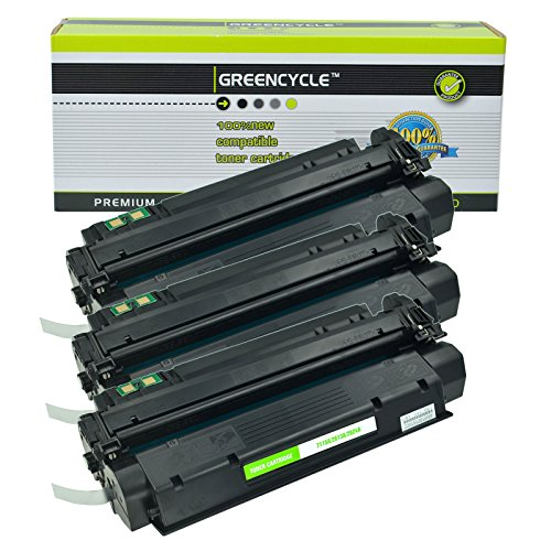 GREENCYCLE 3 Pack 13A Q2613A Compatible Black Toner Cartridge for HP Laserjet 1300 Laserjet 1300n Laserjet 1300xi Printer