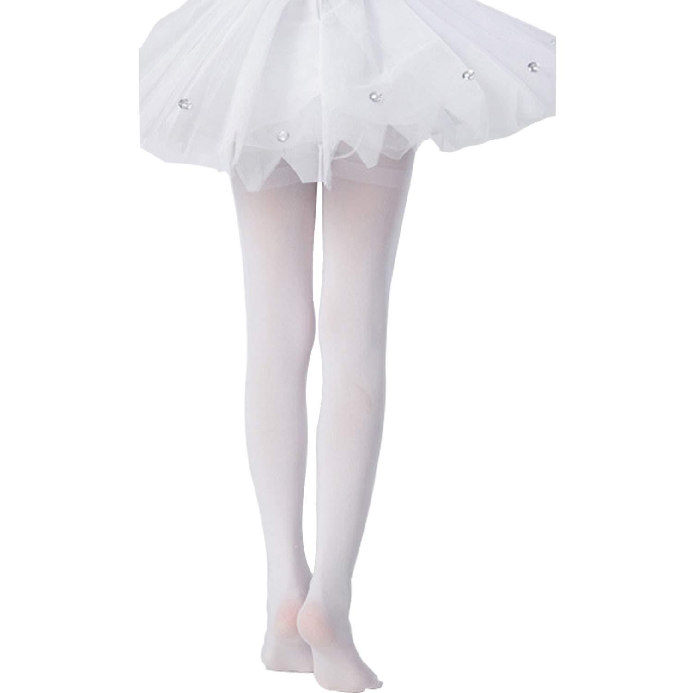 Tulucky Girls Ultra Soft Ballet Footed Legging Students School Dance Tight Little Kid//Big Kid