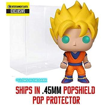 41406a003f8 Amazon.com  Funko Super Saiyan Goku  Glow-in-Dark  (EE Exclusive ...