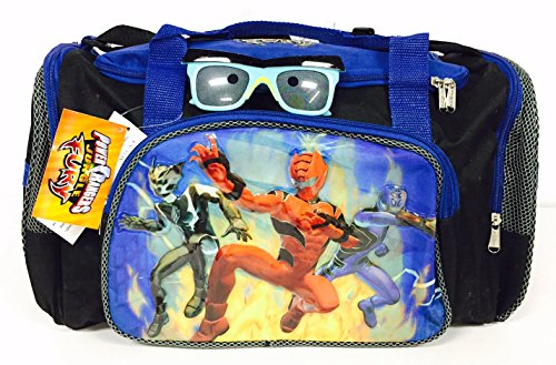 The Power Rangers Duffle Bag and Sunglasses Set -