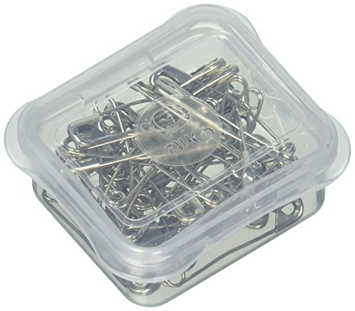 Dritz Quilting Basting Pins - Dritz Quilt 101 28008 Curved Safety Pins, Size 2 (40-Count)