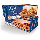 Bahlsen Cookies - Delice and Deloba Sampler Pack - 3.5 Ounce Boxes (Pack of 6)